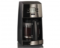 Black Ice™ Metal Collection 12 Cup Coffee Maker (43255R)