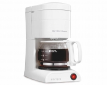 Aroma Express™ 5 Cup Coffee Maker - White (48131)