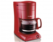Aroma Express™ 5 Cup Coffeemaker - Red (48135)