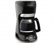 12 Cup Coffee Maker with Digital Clock (49467)