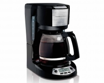 12 Cup Coffee Maker with Programmable Clock (49615)