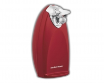 Classic Chrome Heavyweight Can Opener - Red (76388R)