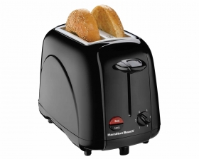 2 Slice Bagel Toaster - Black (22201)