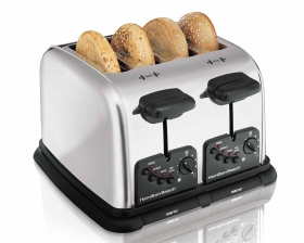Classic Chrome 4 Slice Extra-Wide-Slot Toaster (24600)