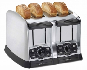 PerfectToast Chrome 4 Slice Toaster (24800)