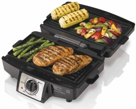 Easy-Clean Indoor Grill (25332)