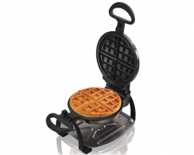 Black Ice™ Metal Collection Belgian Style Flip Waffle Maker (26011)