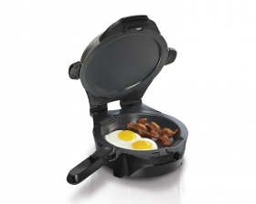 The Breakfast Master™ Skillet and Waffle Maker (26046)