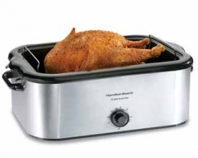 Stainless Steel 22 Quart Roaster Oven (32229).