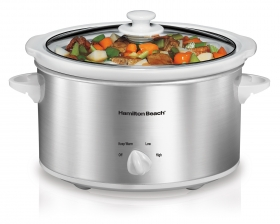 4 Quart Slow Cookers.