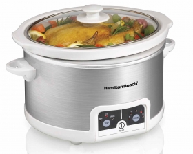 Programmable 4.5 Quart Slow Cooker (33147)