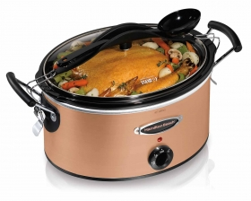 Stay or Go® 6 Quart Copper-look Slow Cooker (33164)