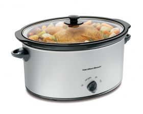 7 Quart Oval Slow Cooker (33176)