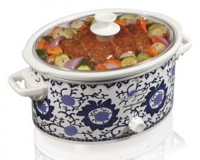 Dana Gibson 6 Quart Slow Cooker (33360)