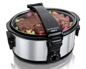 Stay or Go® 6 Quart Portable Slow Cooker (33461)