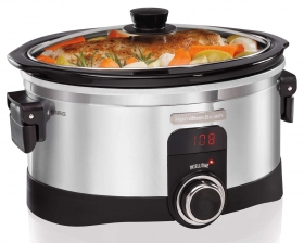 6 Quart Slow Cookers.