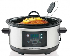 Programmable Set & Forget® 5 Quart Slow Cooker (33958)
