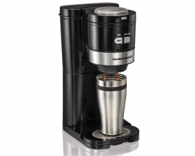 Quietest Coffee Maker With Grinder : Grind and Brew Single-serve-Coffeemaker Single-Serve Coffee Maker Hamilton Beach