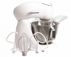 Eclectrics® Sugar (white) All-Metal Stand Mixer (63221)