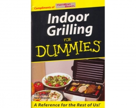 Indoor Grilling for Dummies Book (D426)