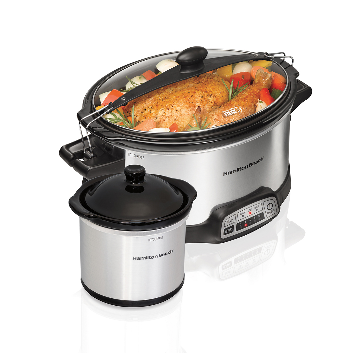 Programmable 6 Quart Stay or Go® Slow Cooker with Little Dipper (33766)
