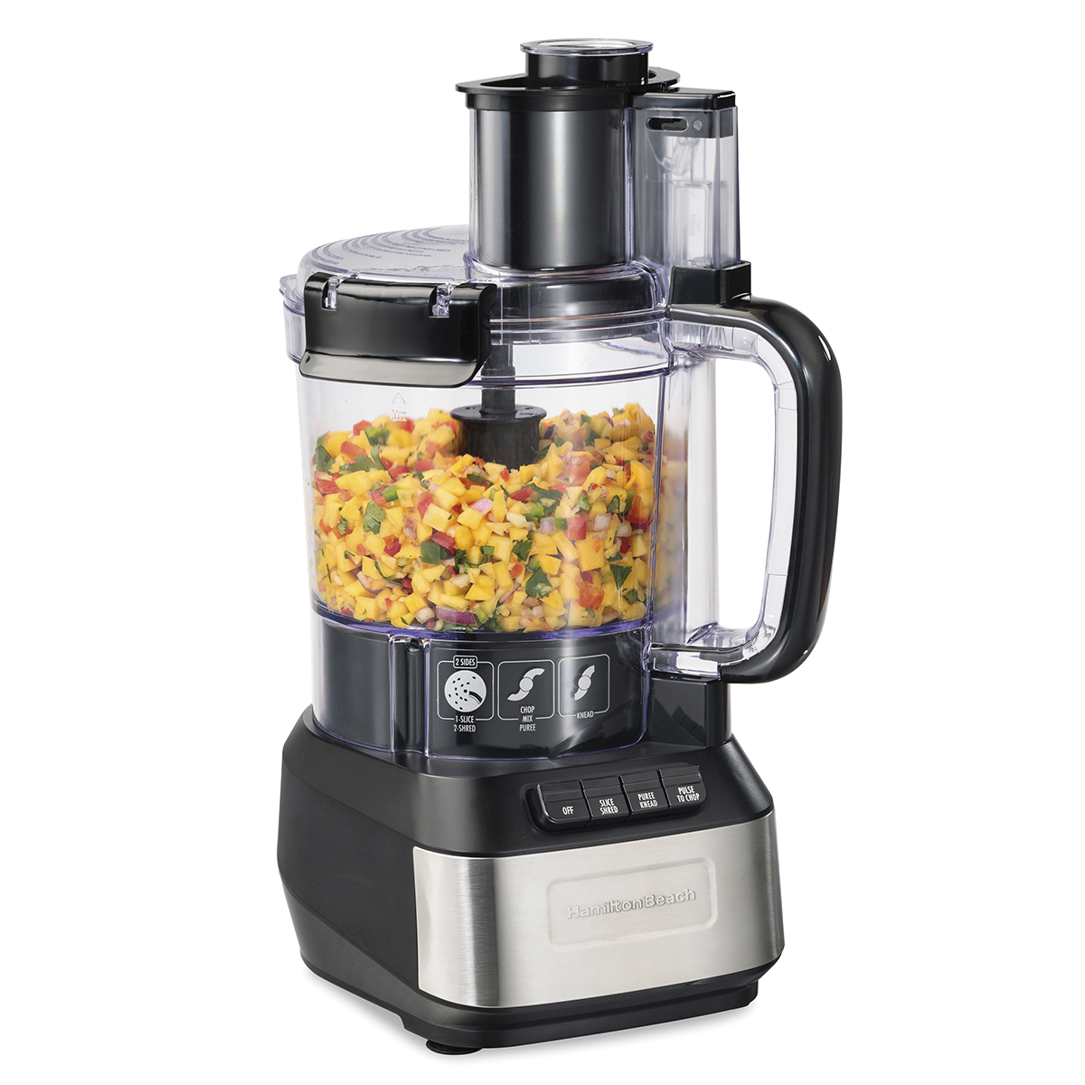 12-Cup Stack & Snap™ Food Processor (70727)