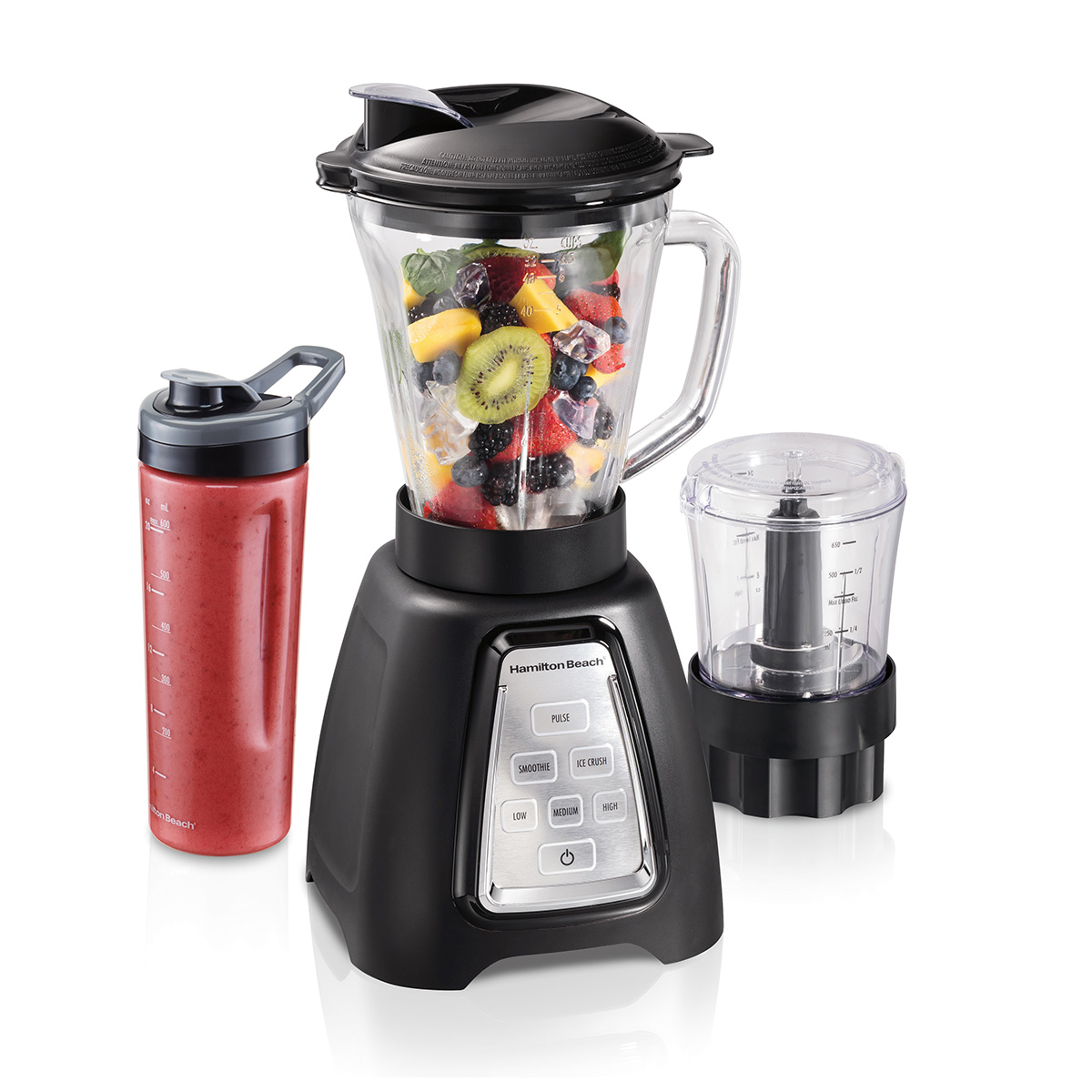MultiBlend® System with Glass Jar, Travel Jar and Food Chopper (58242)