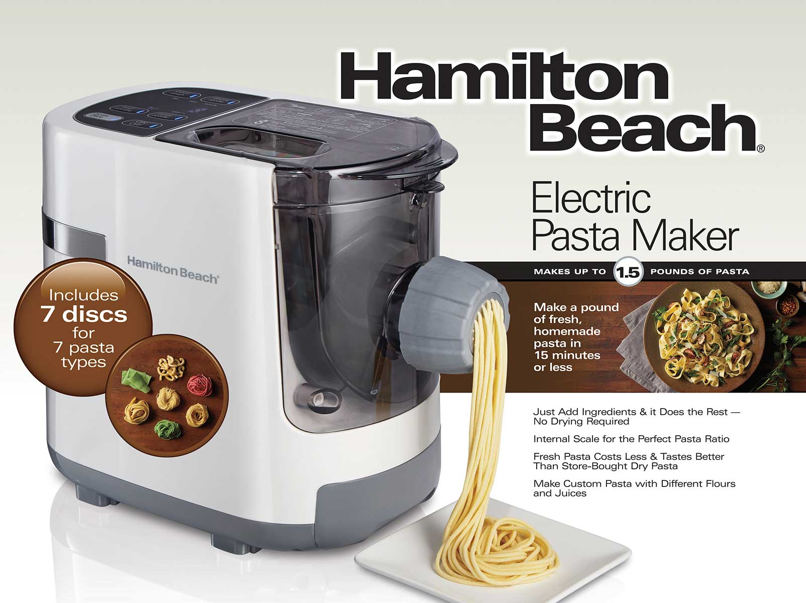 Electric Pasta Maker (86650)