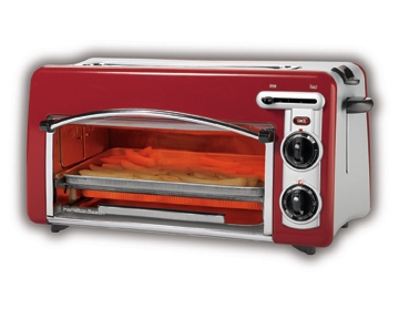 Countertop Oven Red : Toastation? Toaster & Oven and Bagel Toaster - Red - 22703H ...