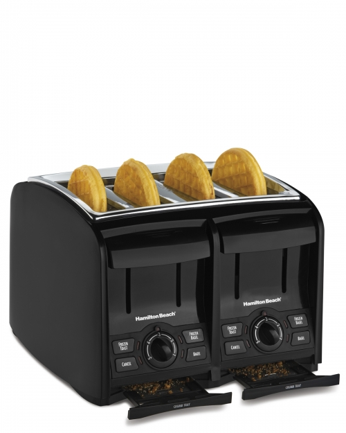 perfecttoast 4 slice toaster from hamilton beach. Black Bedroom Furniture Sets. Home Design Ideas