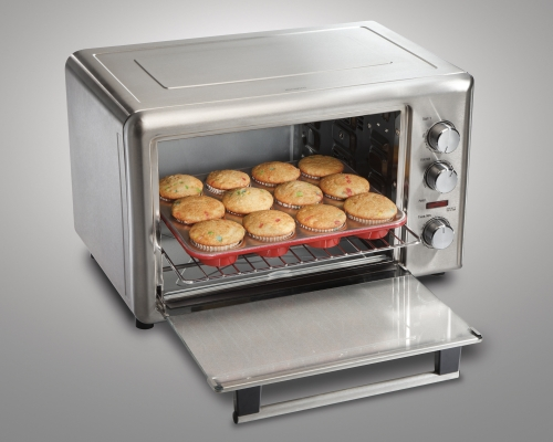 Countertop Convection Oven For Cookies : Hamilton Beach: Countertop Oven with Convection & Rotisserie (31103)