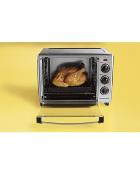 Best Countertop Convection Oven With Rotisserie : Hamilton Beach: Countertop Oven with Convection & Rotisserie (31199R)