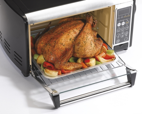 ... Cooking Product Archive Set & Forget? Toaster Oven with Convection