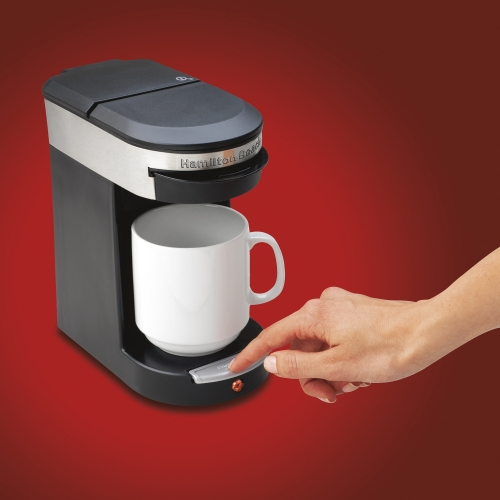 Coffee Maker One Cup No Pods : Personal Cup Pod Coffee Maker One Cup Pod Coffee Maker Hamilton Beach