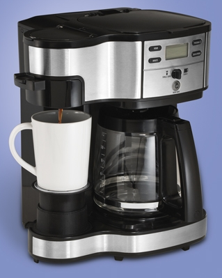Combination Coffee Maker K Cup : 2-Way Brewer Coffee Maker Hamilton Beach