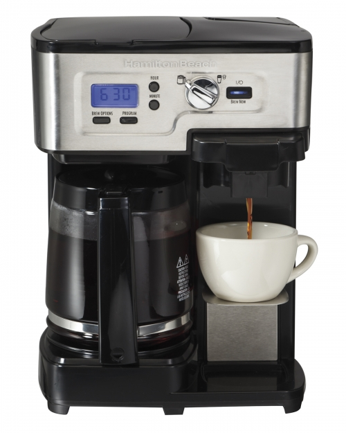 Coffee Maker En Espanol : 2-Way FlexBrew Coffeemaker Hamilton Beach