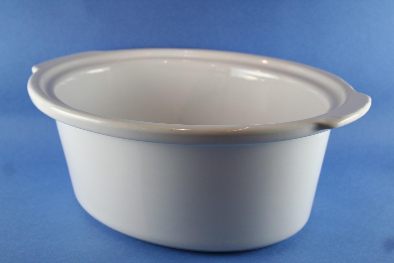 Crock-White 5.5/6 Qt, Oval