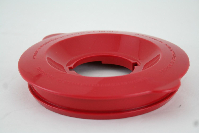 LID, RED, GLASS JAR - 54243