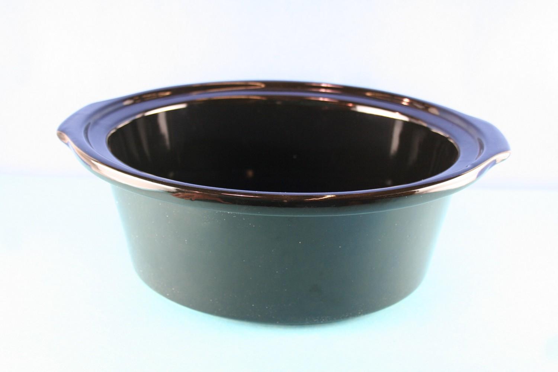 Crock, Black 6.5 Qt  33176