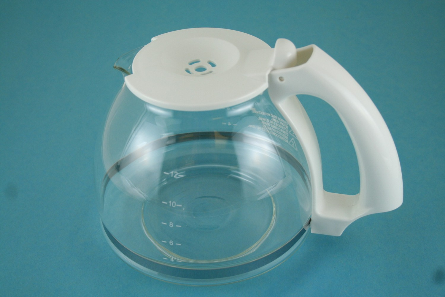 Carafe, White Handle - 49311