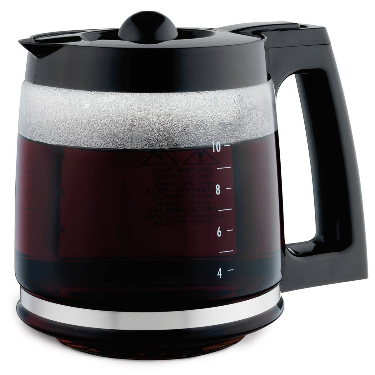 Coffee Maker Replacement Carafe Black -49980