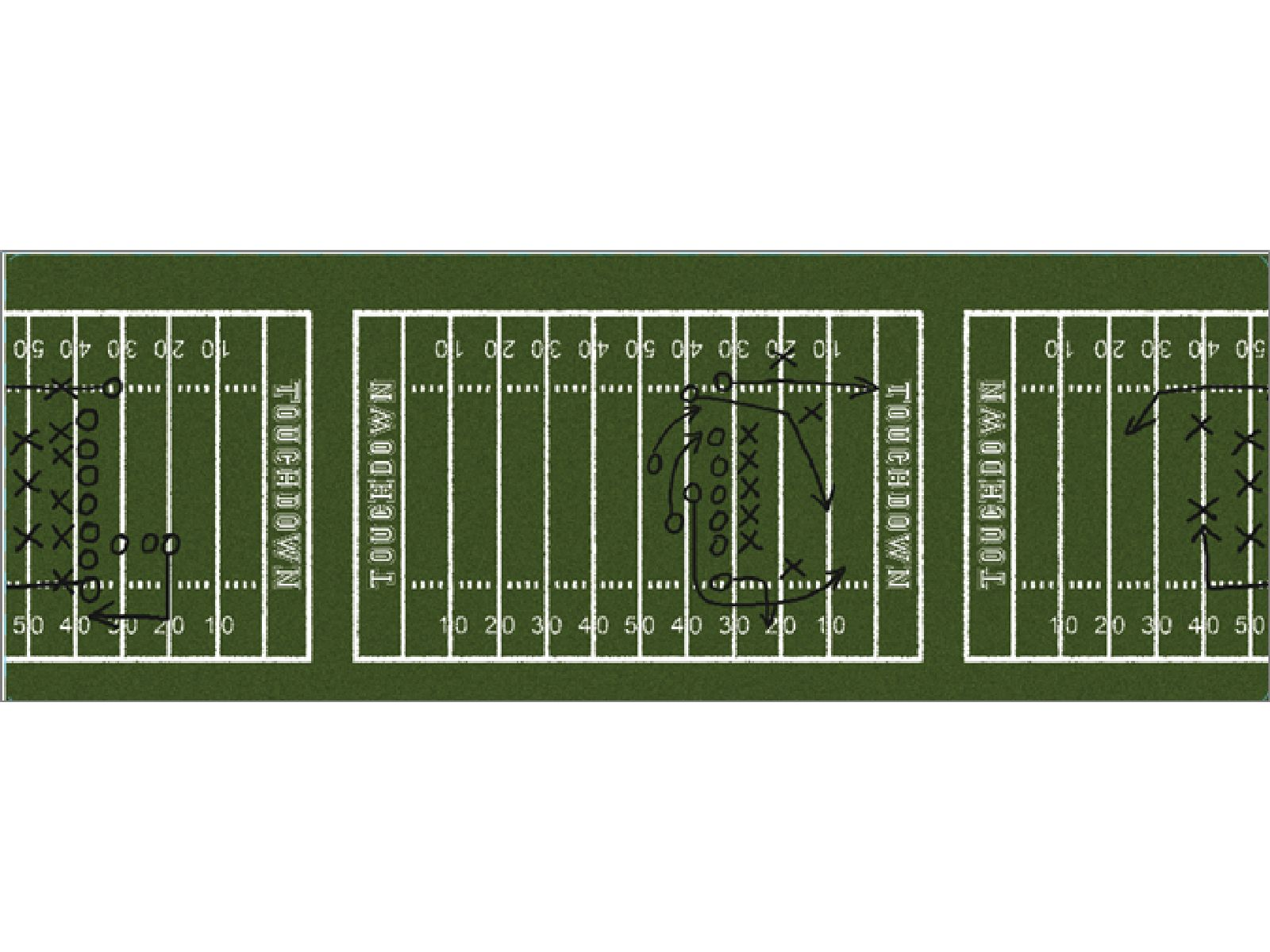 Wrap- Football Field
