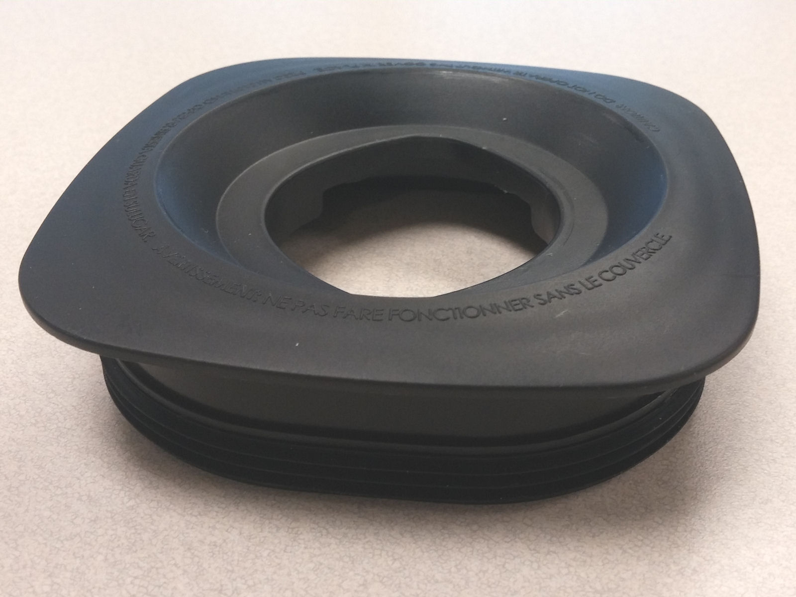 Jar Lid, Black