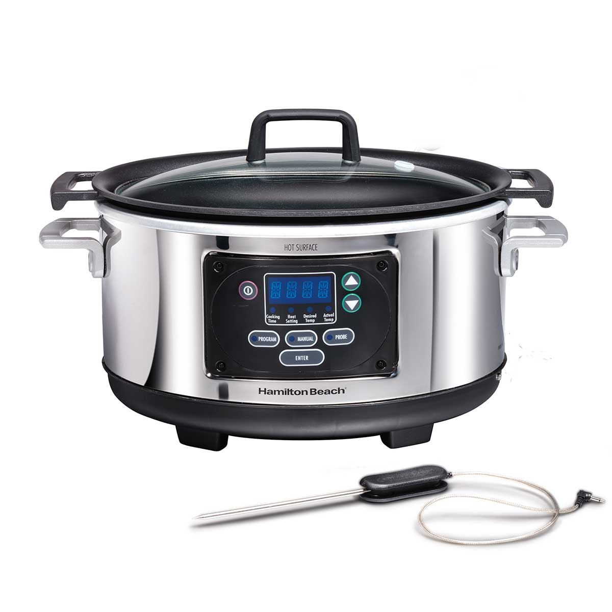 6 Quart Oval Programmable Set & Forget® Slow Cooker (33961)