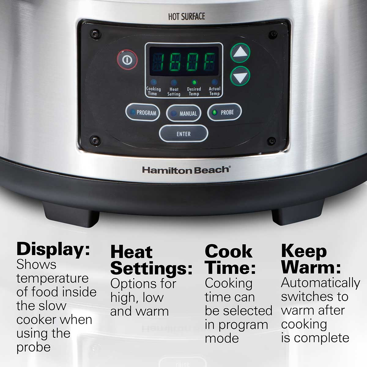 Set & Forget® 6 Qt. Programmable Slow Cooker (33969)