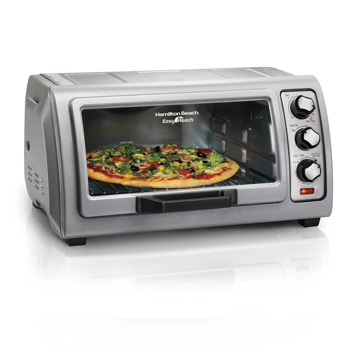 Easy Reach® Toaster Oven with Roll-Top Door (31127D)