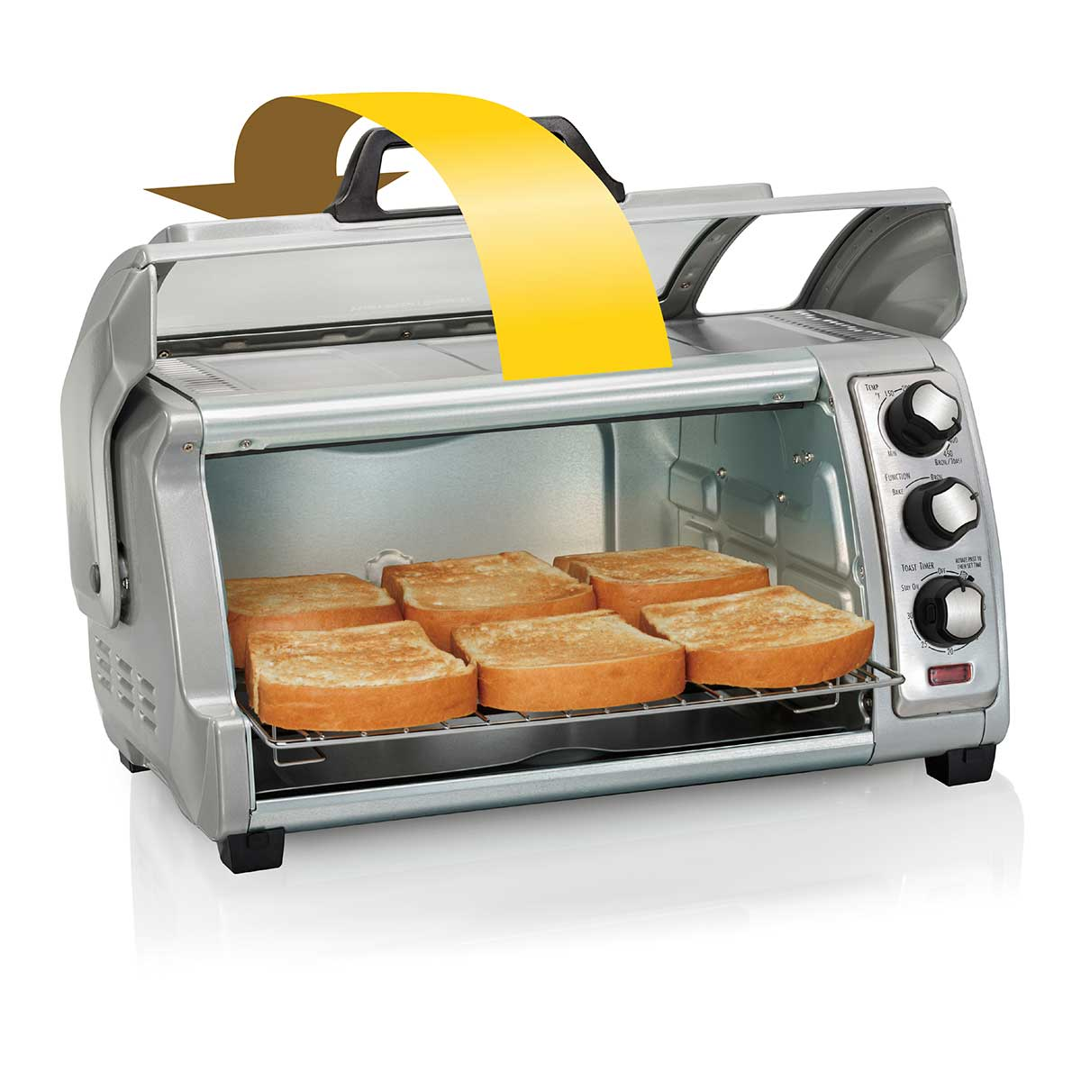 Easy Reach® Toaster Oven With Roll Top Door (31127D)