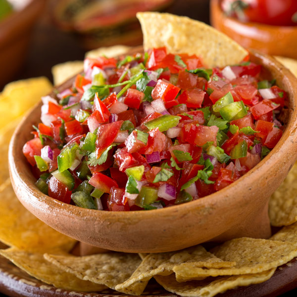 Fresh & Spicy Salsa