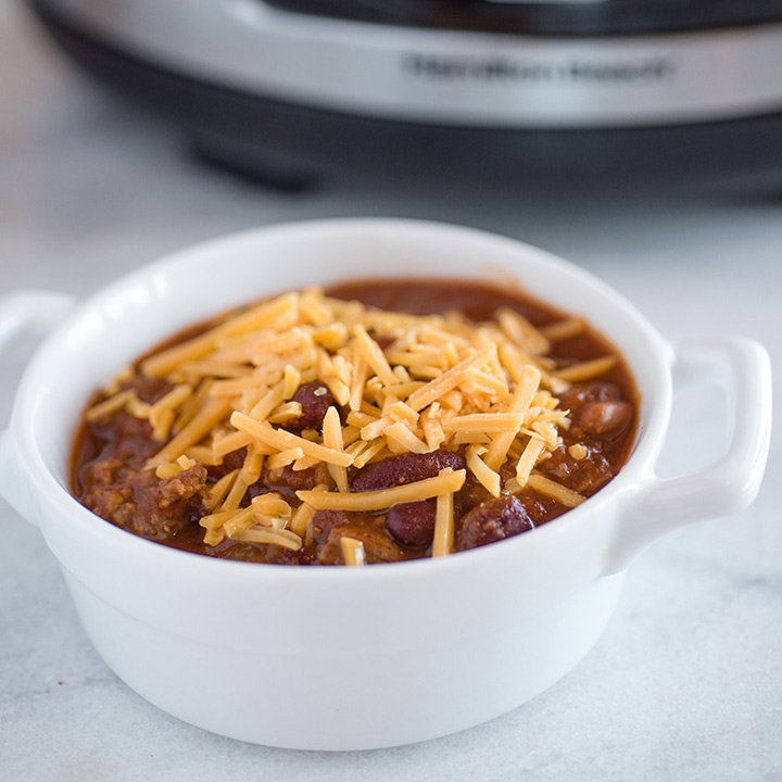 Slow Cooker Hearty Beef Chili