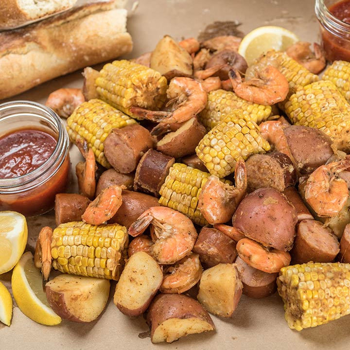 Slow Cooker Lowcountry Boil